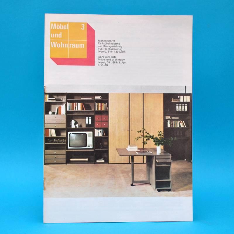 ddr m bel und wohnraum 3 1985 anbauwand mdw 90 schrankwand rosenthal harz ebay. Black Bedroom Furniture Sets. Home Design Ideas