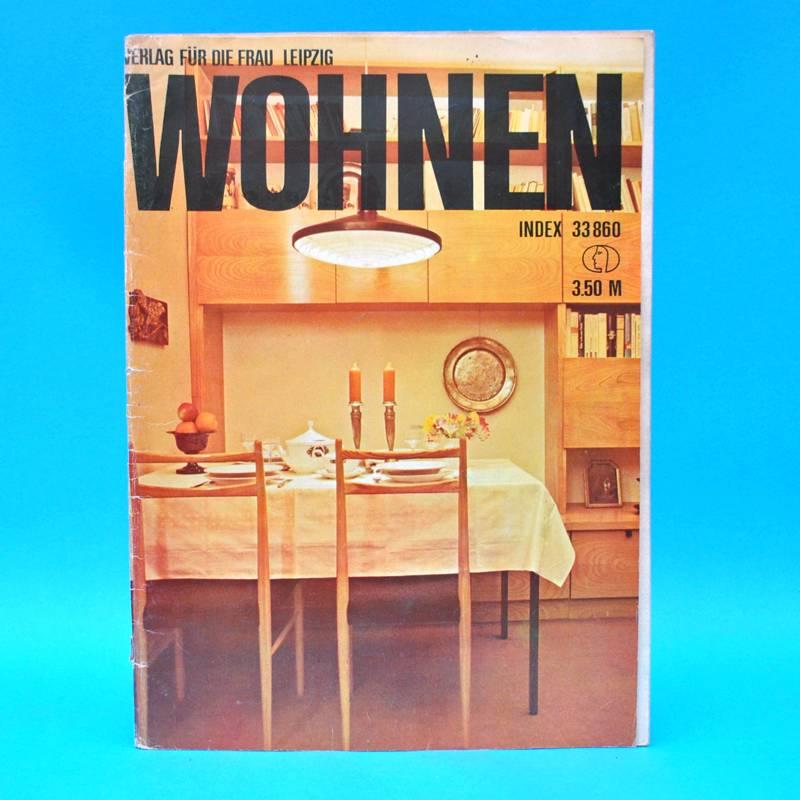 ddr wohnen 1971 zeitschrift wohnen einrichten innenarchitektur h kinderzimmer ebay. Black Bedroom Furniture Sets. Home Design Ideas